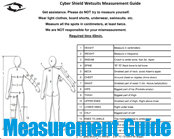 Custom Wetsuit Measurement Guide