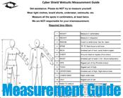 Custom Wetsuit Measurement Guide
